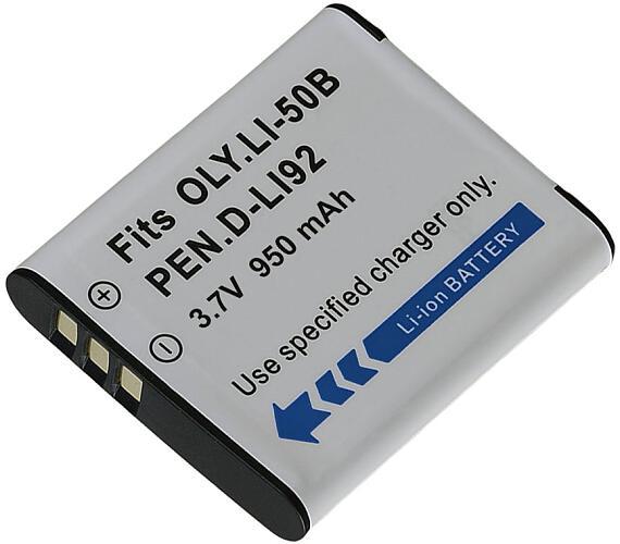 TRX baterie/ 950 mAh/ pro Olympus LI-50B/ Pentax D-Li92/ Ricoh DB-10/ neoriginální (TRX-Li-50B)