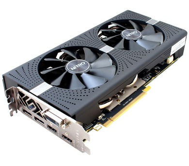 SAPPHIRE NITRO+ RADEON RX 570 / 4GB GDDR5 / PCI-E / 2x HDMI / DVI-D / 2x DP / active (11266-14-20G)