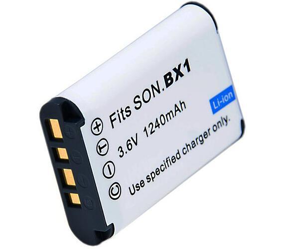 TRX baterie Sony/ 1240 mAh/ pro DSC-HX300/ DSC-HX50/ DSC-HX60/ DSC-RX1/ DSC-RX100 / DSC-WX300/ neori