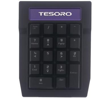 TESORO Tizona Numpad numerická klávesnice pro TS-G2N / mechanická / Kailh black switche / bez podsvícení / USB / černá