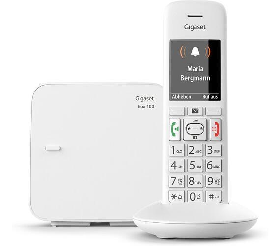 SIEMENS GIGASET E370 - DECT/GAP bezdrátový telefon