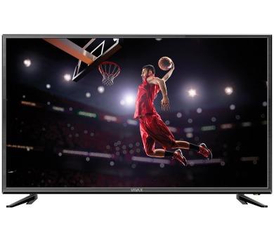 "VIVAX LED TV 40""/ TV-40LE76T2/ Full HD/ 1920x1080/ DVB-T2/ H.265 CRA ověřeno/ 3xHDMI/ 1xUSB/ Hotelový mód"