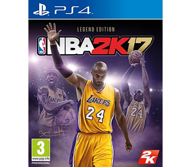 PS4 - ESP: NBA 2K17 Legend Edition + DOPRAVA ZDARMA