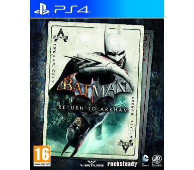 PS4 - Batman Return to Arkham + DOPRAVA ZDARMA