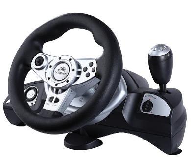 GEMBIRD Volant TRACER Zonda PS/PS2/PS3/PC (JOYTC3122) + DOPRAVA ZDARMA