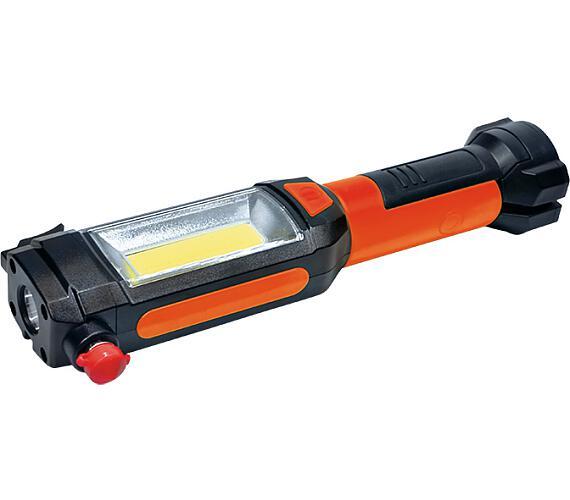 Přenosné multifunkční LED svítidlo SOLIGHT 3W COB + 1W LED
