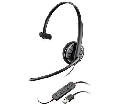 Plantronics náhlavní souprava na jedno ucho se sponou - Microsoft (BLACKWIRE C310-M) + DOPRAVA ZDARMA