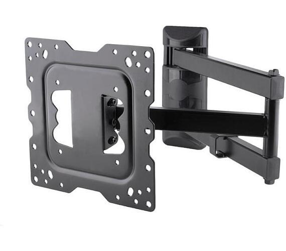 """4W Držák pro LCD 15-43"""" sklopný/otočný max.40kg (10093)"""