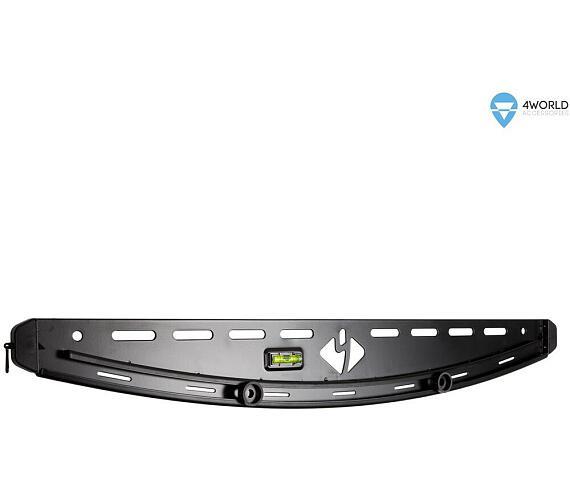 """4W Samonivelační držák pro LCD 30-50"""" max 55kg BLK (07459-BLK)"""