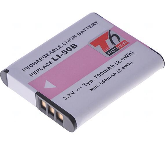 Baterie T6 power Olympus Li-50B