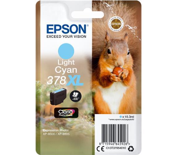 Epson Singlepack Light Cyan 378 XL Claria (C13T37954010) + DOPRAVA ZDARMA