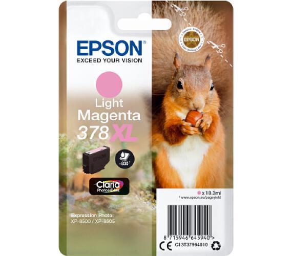 Epson Singlepack Light Magenta 378 XL (C13T37964010) + DOPRAVA ZDARMA