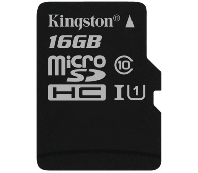 KINGSTON Canvas Select 16GB microSDHC / UHS-I / CL10 / bez adaptéru (SDCS/16GBSP)