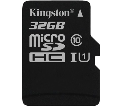 KINGSTON Canvas Select 32GB microSDHC / UHS-I / CL10 / bez adaptéru (SDCS/32GBSP)