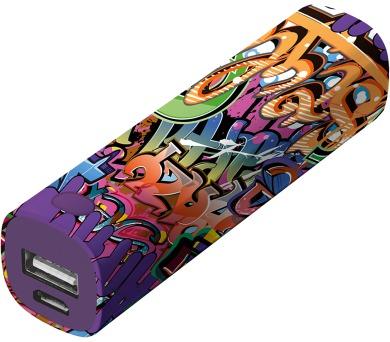 TRUST Tag PowerStick 2600 - graffiti text (20867)