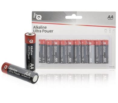 HQ alkalická baterie 1,5V/ AA/ LR6/ blistr 10ks