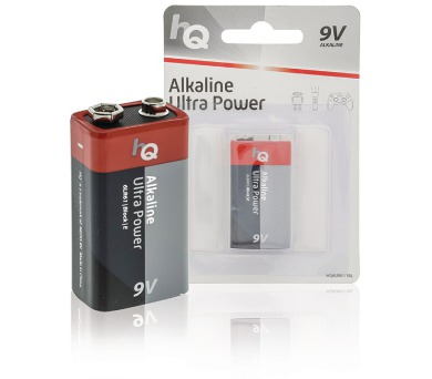 HQ alkalická baterie 9V/ 6LR61/ blistr 1ks (HQ6LR61/1BL)