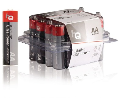 HQ alkalická baterie 1,5V/ AA/ LR6/ box 20ks
