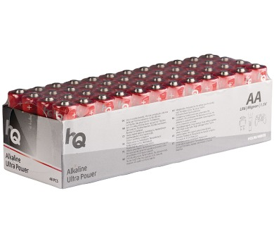 HQ alkalická baterie 1,5V/ AA/ LR6/ box 48ks