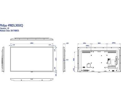 """Philips LCD Q49"""" 49BDL4050D 16/7 (49BDL3050Q/00) + DOPRAVA ZDARMA"""