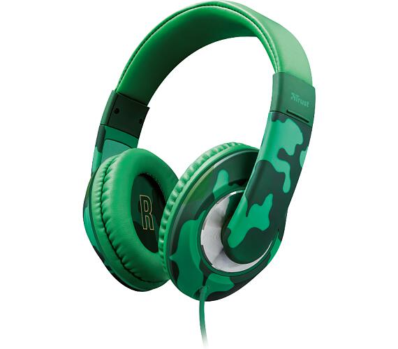 TRUST Sonin Kids Headphone - jungle (22203)