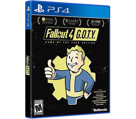 PS4 - Fallout 4 Game of the Year Edition