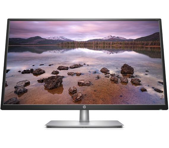 """HP 32s / 32"""" FHD matný IPS/ 16:9/ 5ms/ 250 cd/m2 / VGA/ HDMI/ stříbrný + černý (2UD96AA#ABB)"""