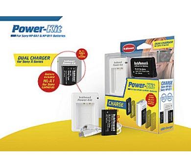 Hähnel Power-Kit pro Sony - nabíječka NP-BX1&NP-BY1 + baterie HL-X1 (NP-BX1) + DOPRAVA ZDARMA