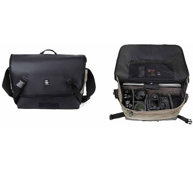 Crumpler Muli 8000 - black tarpaulin / khaki (MU8000-004) + DOPRAVA ZDARMA
