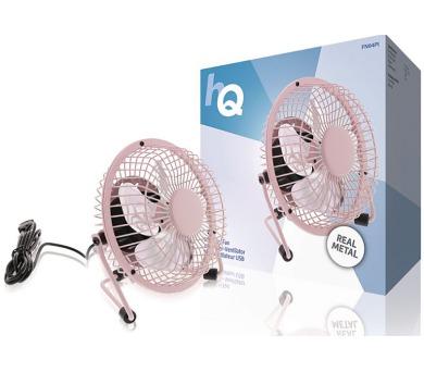 HQ FN04WH - Stolní USB ventilátor 10 cm