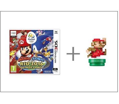 Nintendo 3DS Mario & Sonic at the Rio 2016 + Classic amiibo (NI3S46251) + DOPRAVA ZDARMA