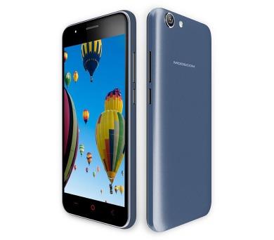 """Modecom Smartphone Q-502 Dual SIM/5"""" IPS/854x480/Quad-Core 1,2GHz/1GB RAM/8GB flash/5Mpix/Android 5.1/black + DOPRAVA ZDARMA"""
