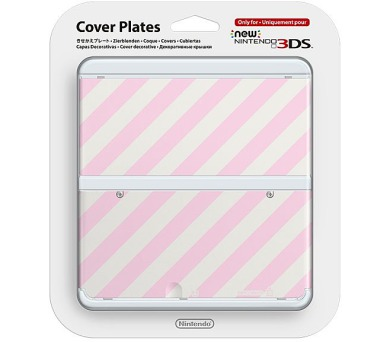 Nintendo New 3DS Cover Plate 14 (Pink Mix) (NI3P11014)