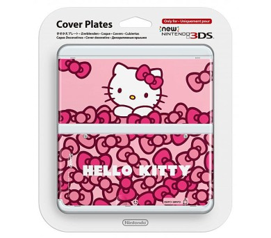 Nintendo New 3DS Cover Plate - Hello Kitty (NI3P11019)
