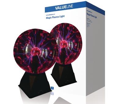 Valueline VLPLASMABALL10 - Magická plazmová koule