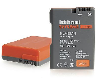 Hähnel EXTREME Li-Ion HLX-EL14 - Nikon EN-EL14/EL14a + DOPRAVA ZDARMA
