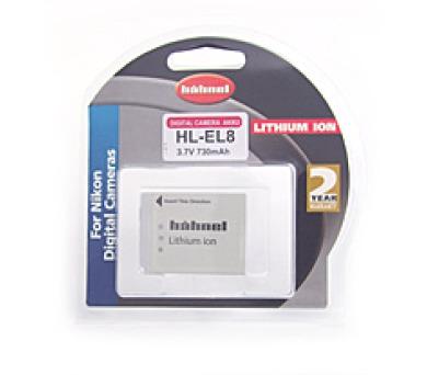 Hähnel HL-EL8 - Nikon EN-EL8 + DOPRAVA ZDARMA