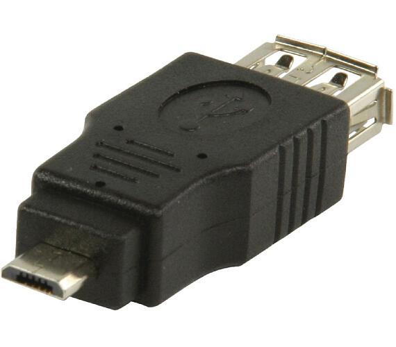 Valueline VLCP60901B - adaptér USB 2.0 Micro B zástrčka - A zásuvka