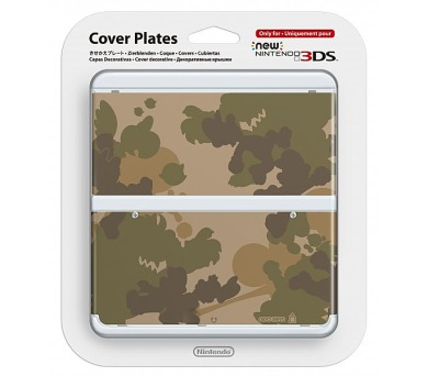 Nintendo New 3DS Cover Plate 17 (Camouflage) (NI3P110170)