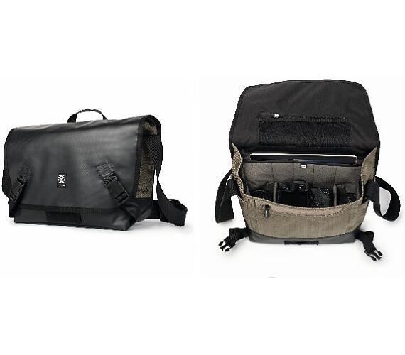 Crumpler Muli 4500 - black tarpaulin / khaki (MU4500-004) + DOPRAVA ZDARMA