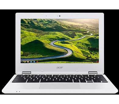 "Acer Chromebook11 (CB3-132-C3XJ) Celeron N3160/4GB/eMMC32GB+N/HD Graphics/11.6"" HD matný/Google Chrome/White + DOPRAVA ZDARMA"