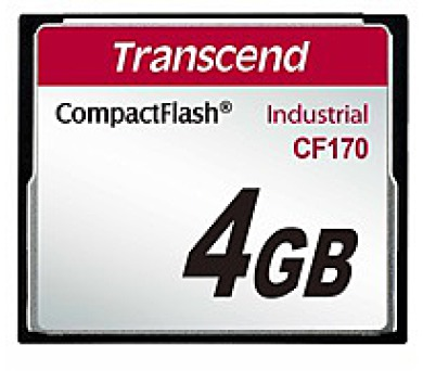 TRANSCEND Industrial Compact Flash Card CF170