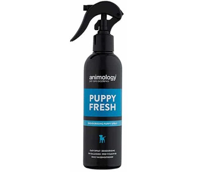 ANIMOLOGY Deodorant ve spreji pro štěňata Puppy Fresh