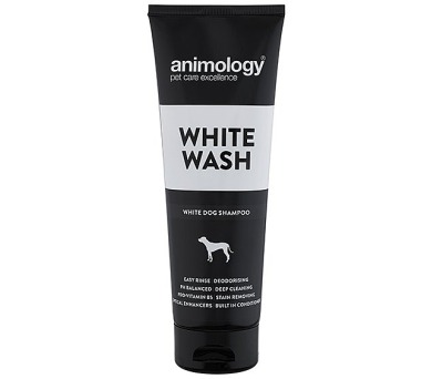 ANIMOLOGY Šampon na bílou srst White Wash