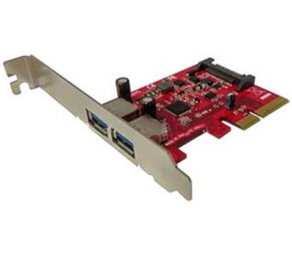 Kouwell řadič UB-132 / 2x USB3.1 / PCIe x4 / + DOPRAVA ZDARMA