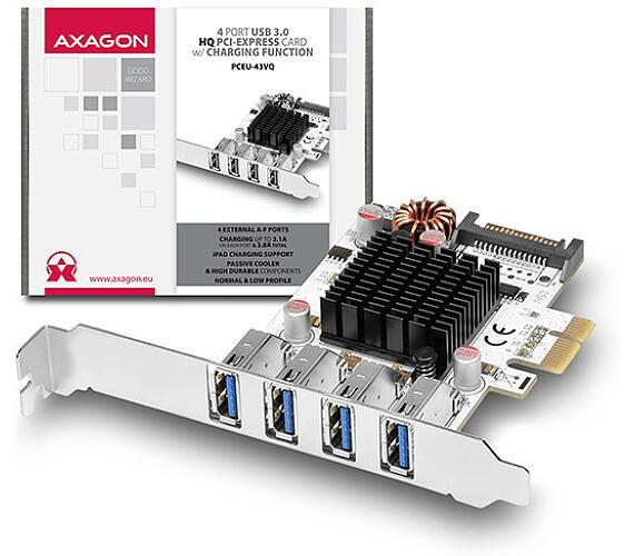 AXAGON PCEU-43VQ