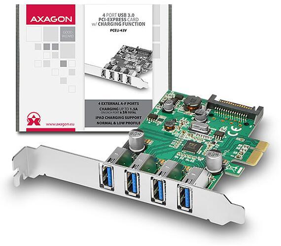 AXAGON PCEU-43V