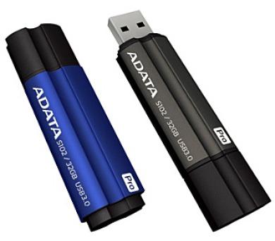 128GB USB 3.0 ADATA S102 Pro modrá (100/50MB/s)