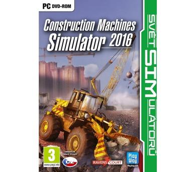 PC - SIM: CONSTRUCTION MACHINES SIMULATOR 2016