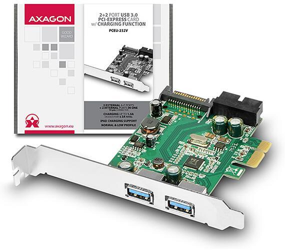 AXAGON PCEU-232V